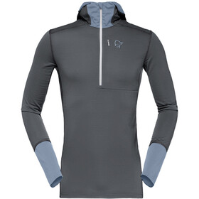 Norrøna Super Hoodie Men Dark Grey